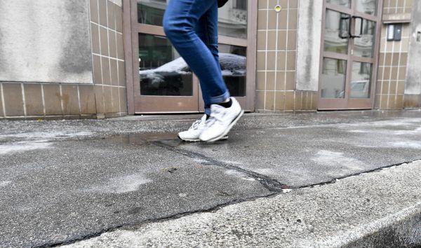 Im Bild: Der Tatort in der Margaretenstraße. APA