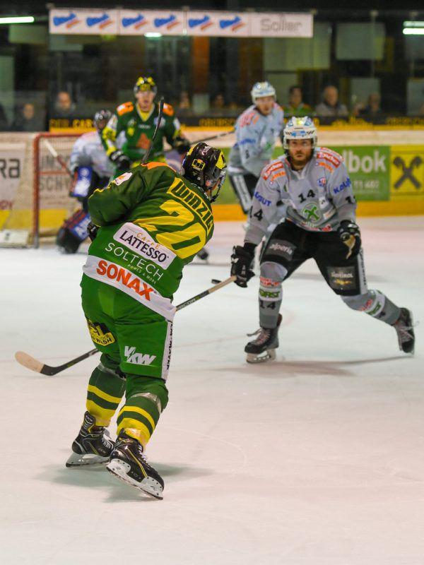Im Hinspiel hatte Lustenau gegen Ritten noch mit 7:3 gewonnen.Lerch