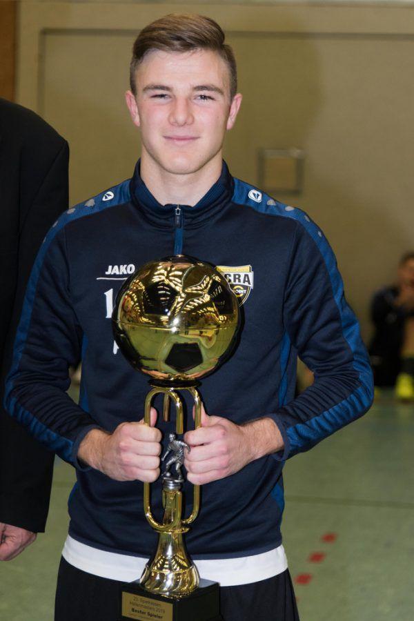 Lars Nussbaumer wurde zum besten Spieler gewählt.
