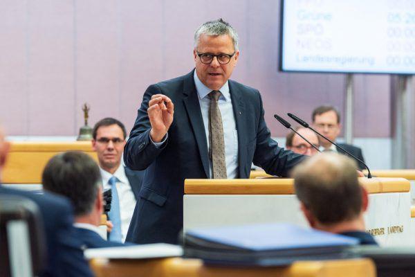Schoss gegen die FPÖ: Klubobmann Roland Frühstück (VP).