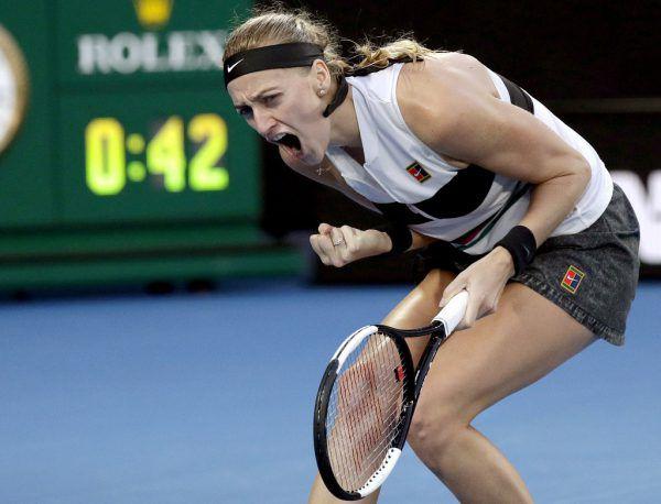 Petra Kvitova hatte Grund zur Freude.AP