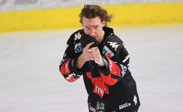 Philipp Lindner (Bild) blutete nach einem Haberl-Check.GEpa
