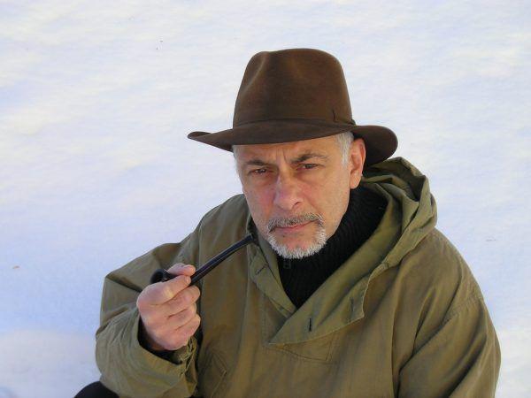 Roland Eugen Beiküfner als Shackleton. Kunst und Drama