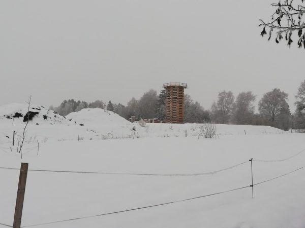 In Lustenau wird an einem Rekordfunken gebaut.NEUE