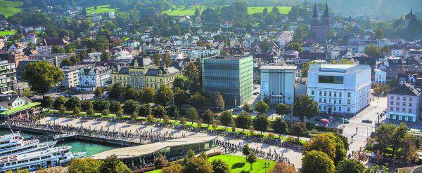 In Bregenz wird in Kooperation mit der HSG an der Digitalisierung der Verwaltung gearbeitet.Steurer