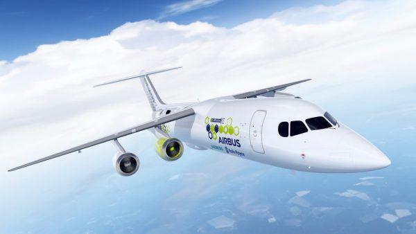 Der E-Fan X von Siemens, Airbus und Rolls Royce soll ab dem kommenden Jahr als fliegende Testplattform dienen.Airbus