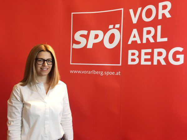 Jeannette Greiter, Landesfrauenvorsitzende SPÖ.SPÖ