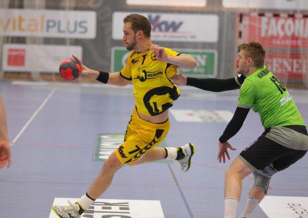 Povilas Babarskas traf gegen West Wien zweistellig.Hartinger