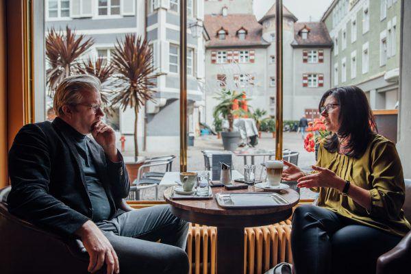 """Die künftige Bürgermeisterin Katharina Wöß-Krall (41) im Gespräch mit der NEUE am Sonntag: """"Es gibt für alles eine Lösung, man muss aber miteinander reden.""""Frederick Sams"""