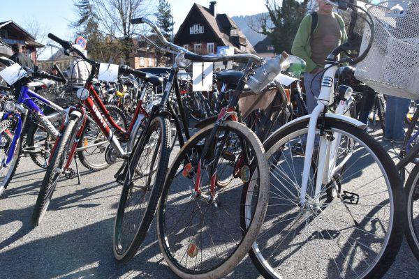 Heuer geht die Fahrradbörse am Viehmarktplatz über die Bühne.Stadt Dornbirn