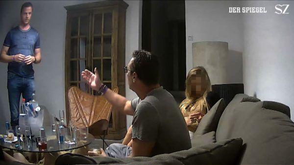Aufregung rund um das Ibiza-Video ist nach wie vor groß.AFP PHOTO/SPIEGEL and Sueddeutsche Zeitung