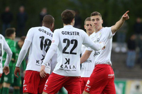 FC Dornbirn darf schon vor dem heutigen Spiel über den fixen Aufstieg jubeln.hartinger