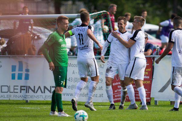 In der Hinrunde feierten die Bregenzer einen spektakulären 4:2-Sieg in Haselstauden.Steurer