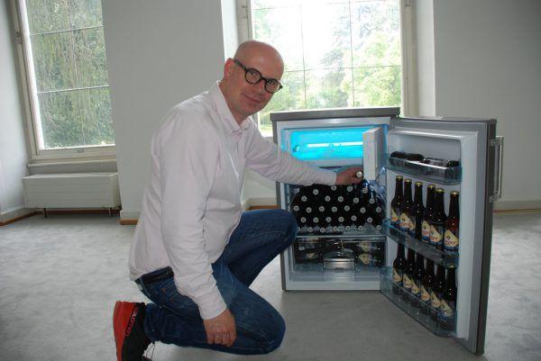Mathias Kessler macht das Künstlerhaus zur Plattform für Begegnungen.Wolfgang Ölz (2)