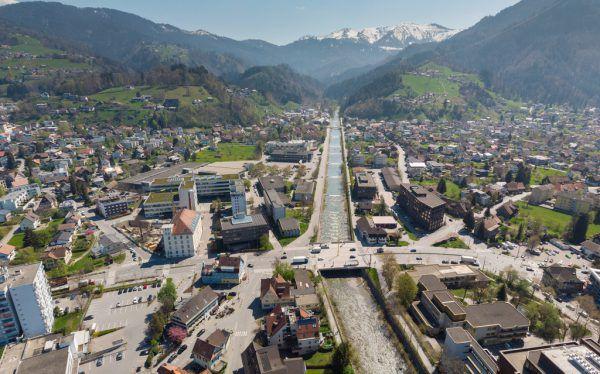 Mit rund 82 Millionen Euro ist das Krankenhaus der größte Betrieb der Stadt Dornbirn.KLaus Hartinger