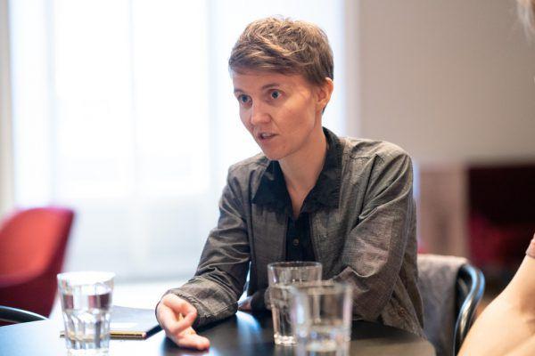 Nico Raschner und Bérénice Hebenstreit im T-Cafe.Dietmar Stiplovsek (2)