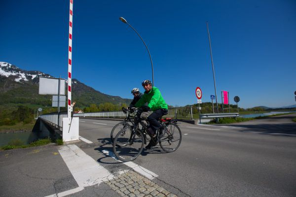 Rad statt Auto.Symbol/Hartinger