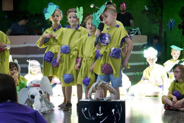 Die Kinder können auch selbst performen.Bregenzer Festspiele/Anja Köhler