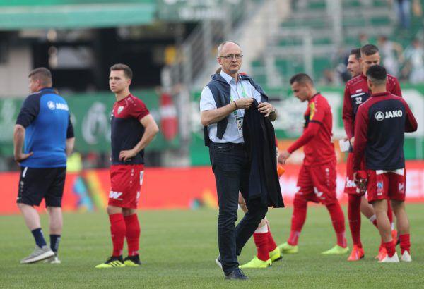 Geschäftsführer Sport Georg Zellhofer weist die Vorwürfe von Adrian Grbic entschieden zurück. GEPA
