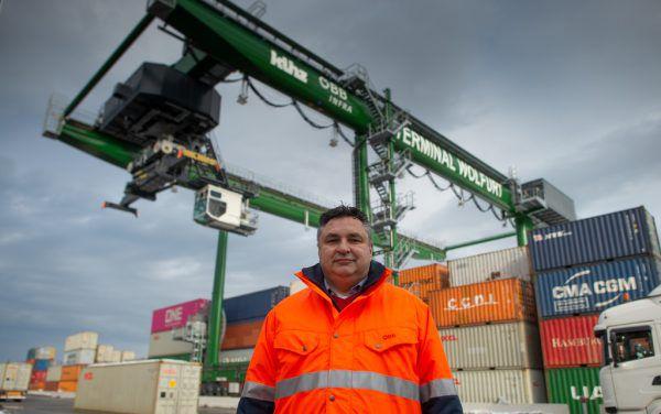 Seit rund eineinhalb Jahren ist Robert Steger Terminalleiter in Wolfurt.ÖBB (3)