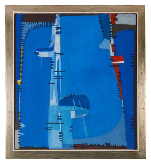 """Überbrückung verzahnt"", 1963. Bode Galerie"