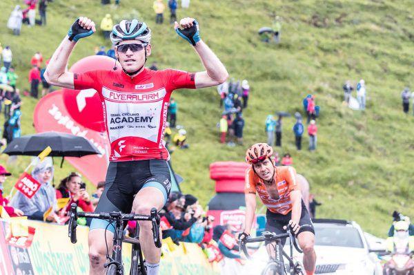 Ben Hermans (oben l.) jubelte im roten Leadertrikot über seinen zweiten Ö-Tour-Sieg. Doch auch José Manuel Diaz Gallego, Aleksandr Vlasov und Patrick Schelling (unten v. l.) hatten Grund zur Freude.APA (2), Eisenbauer, Gepa