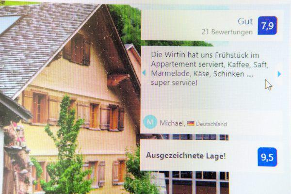 Bewertungen auf Onlineportalen sind oft entscheidend für potenzielle Kunden.Symbolfoto/Klaus Hartinger