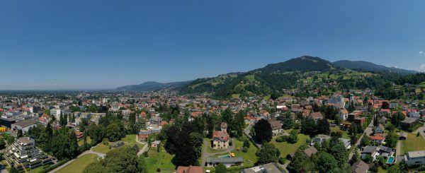 Das Villenviertel umfasst unter anderem fünf große, geschützte private Bauten im Oberdorf.Dietmar Stiplovsek