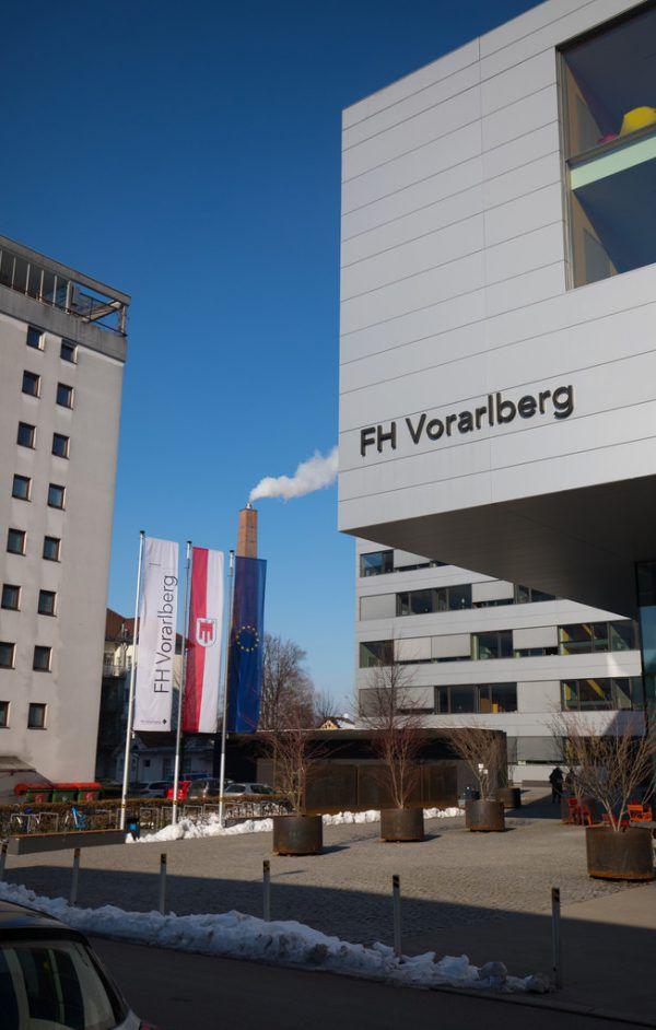 Die FH Vorarlberg erfreut sich großer Beliebtheit.Hartinger