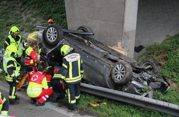 Erst am Samstag hat sich auf der Rheintalautobahn ein schwerer Unfall ereignet.Vol.at/Pletsch