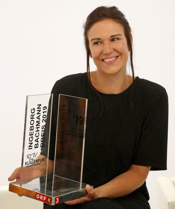 Gewinnerin Birgit Birnbacher.APA