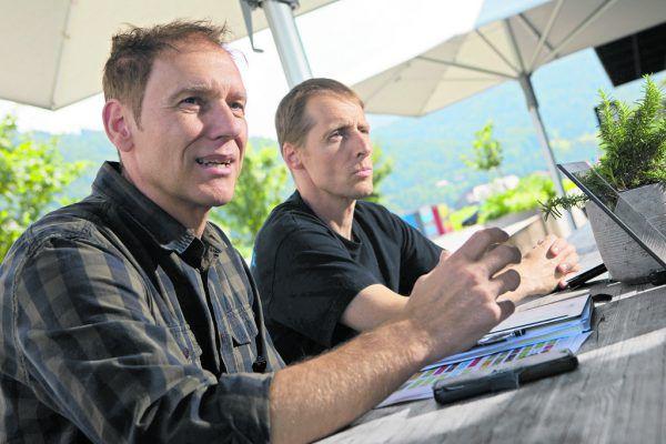 Guntram Schedler und Alexander Kutzer sprechen über ihr Ausbildungskonzept.Klaus Hartinger