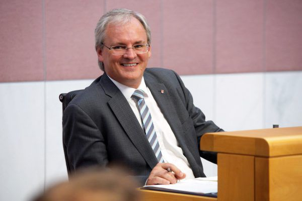 Harald Sonderegger zog Bilanz.Vorarlberger Landtag