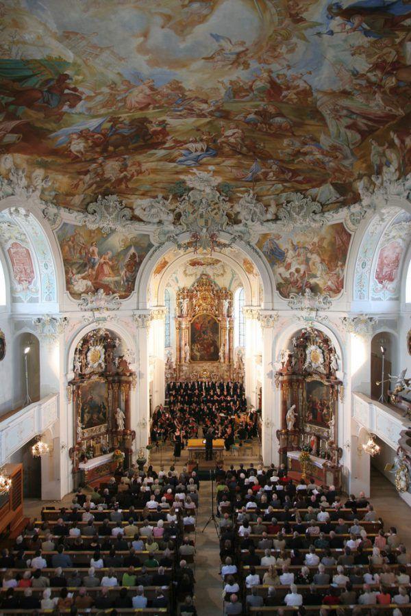 Konzert in der Pfarrkirche St. Katharina. Freundeskreis Wolfegger Konzerte