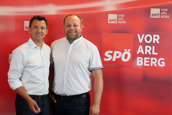 Martin Staudinger (l.) und Michael Pompl.SPÖ