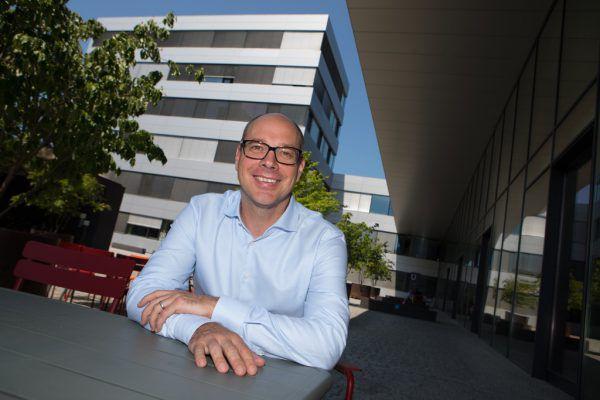 Stefan Fitz-Rankl ist seit 2013 Geschäftsführer der Fachhochschule Vorarlberg.Er freut sich auf die millionenschwere Erweiterung der Einrichtung.Klaus Hartinger