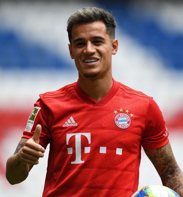 Coutinho im roten Trikot der Bayern.APA