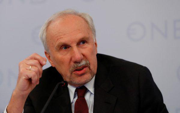 Der scheidende OeNB-Gouverneur Ewald Nowotny.Reuters