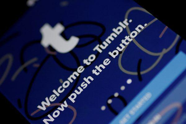 Die Plattform Tumblr war 2013 für fast eine Milliarde Dollar von Yahoo gekauft worden.Reuters