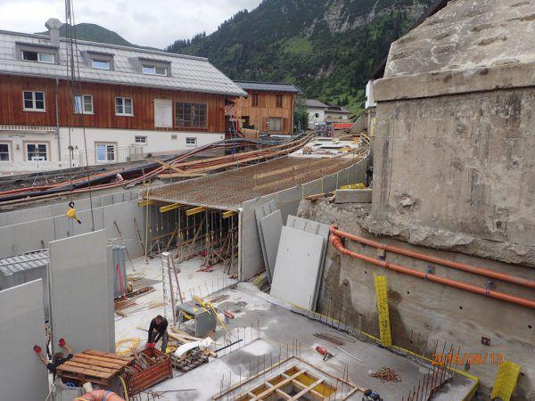 Die Tunnelbaustelle in der Angerstraße verläuft nach Plan und wird bis Ende Oktober 2019 abgeschlossen sein.Hassler