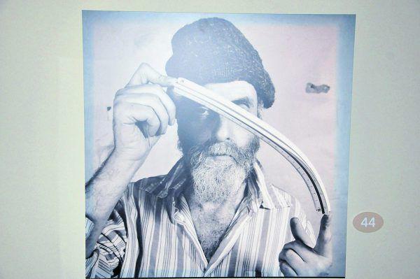 Ein Bild des Künstlers aus der Lindauer Ausstellung.Wolfgang Ölz