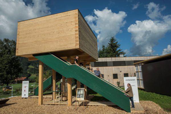 Der Holzbau ist ein VorarlbergerAushängeschild.Paulitsch
