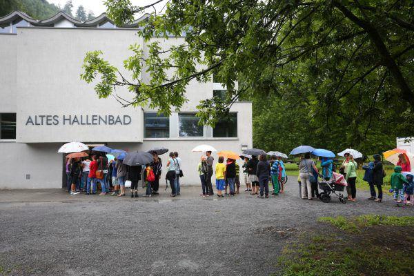 In KleinFeldkirch hat das Stadtleben begonnen. Hartinger/Archiv