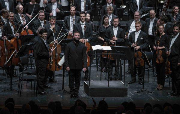 Kirill Petrenko mit den Berliner Philharmonikern in Salzburg.SF/marco Borrelli