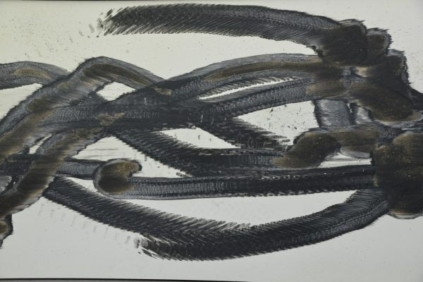 Links Kurt Prantl in Dornbirn. Kleines Bild: Werk von Hubert Dobler in der Galerie c.art.Wolfgang Ölz (2)