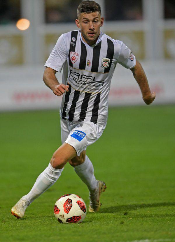 Michael Lageder ist bisher einer der konstantesten Austria-Akteure der Saison. Zuvor spielte der 28-Jährige zwei Jahre für die Juniors OÖ.Gepa, Gepa/Lerch