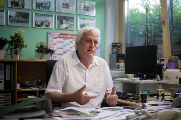 """Norbert Loacker ortet bei den Aussagen von Kurz """"falsche Wahlversprechen"""".Roland Paulitsch"""