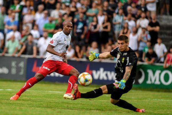 Der FC Dornbirn will sich in der 2. Liga etablieren.Gepa/LErch