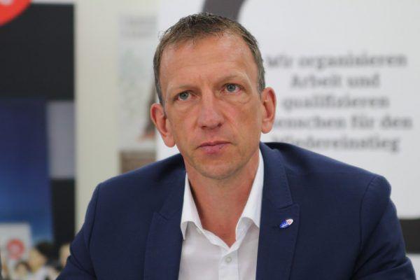 Vorarlbergs AMS-Chef Bernhard Bereuter.VOL.AT/Rauch