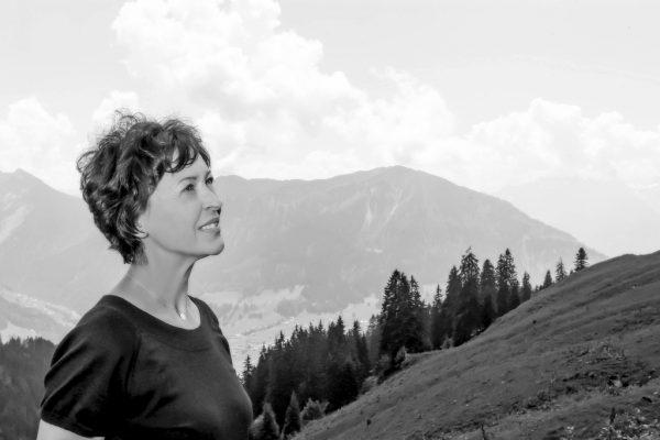 Workshopleiterin Corinna Burtscher.Stadt bludenz